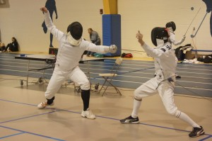 Fencing is one of the camps offered by the Wyoming Parks and Recreation Department.