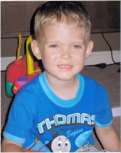 3-year-old Ethan Brown