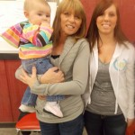 Melissa Bogart (right), mother Pam Bogart (middle), and niece Adilyn Howard (left).
