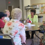 Congresswoman Jackie Walorski spoke with constituents regarding fraud yesterday.
