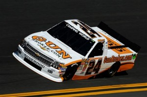 Brennan Newberry's truck for NTS Motorsports