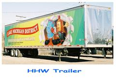 Hazardous Household Waste trailer