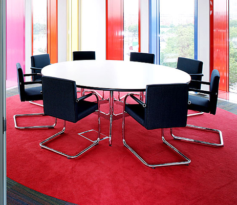 WKworks  Vitras Vissoft cantilever chair designed by