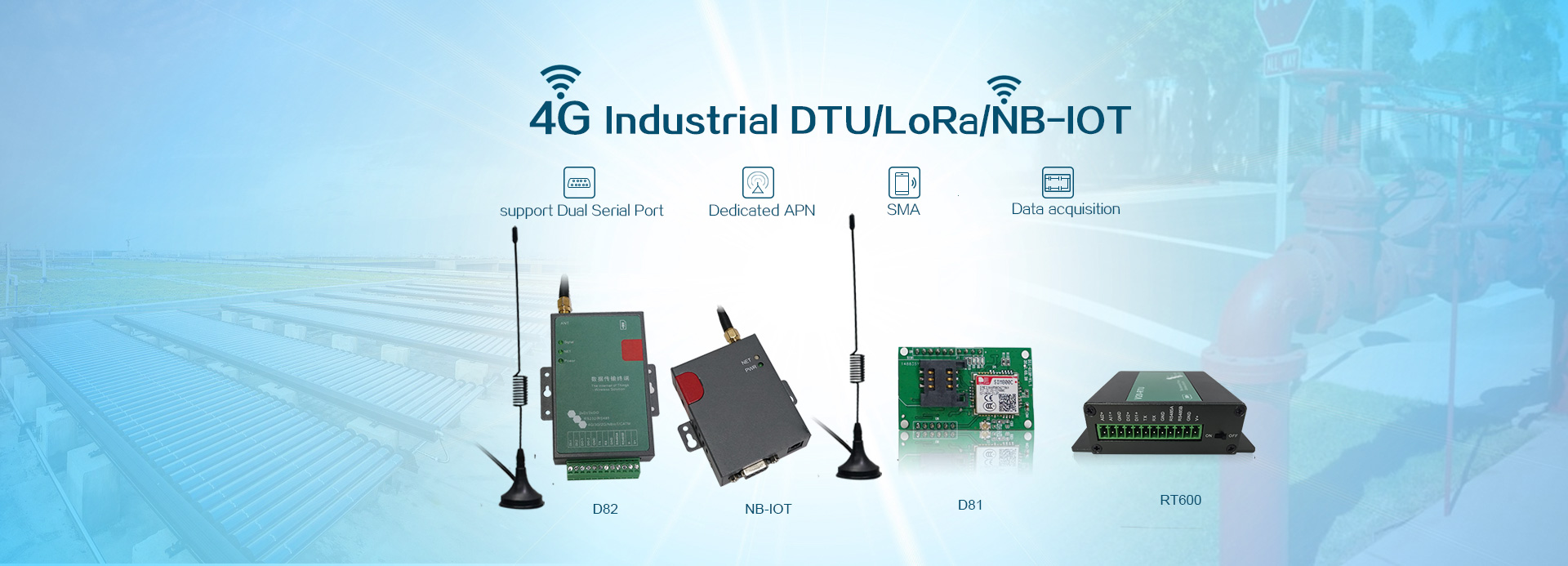 Industrial 3G/4G LTE Router and Modem   Wlink-Tech