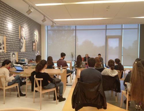 The Write Space at ADA University, Baku, Azerbaijan