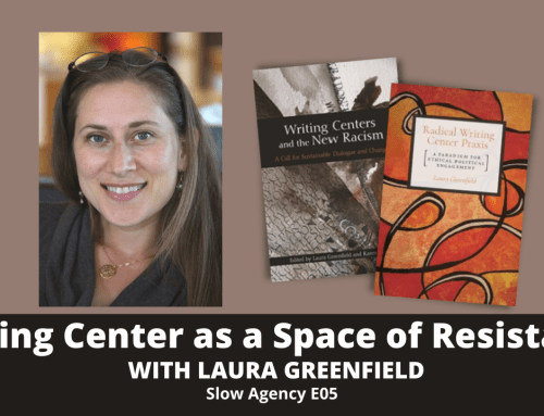 Episode 5 – Laura Greenfield on Writing Center as a Space of Resistance