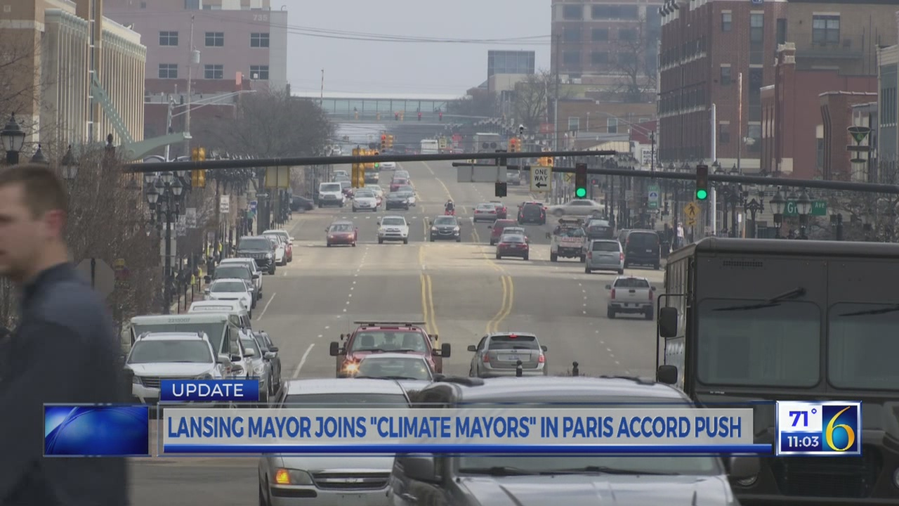 Bernero joins mayors on Paris Accord