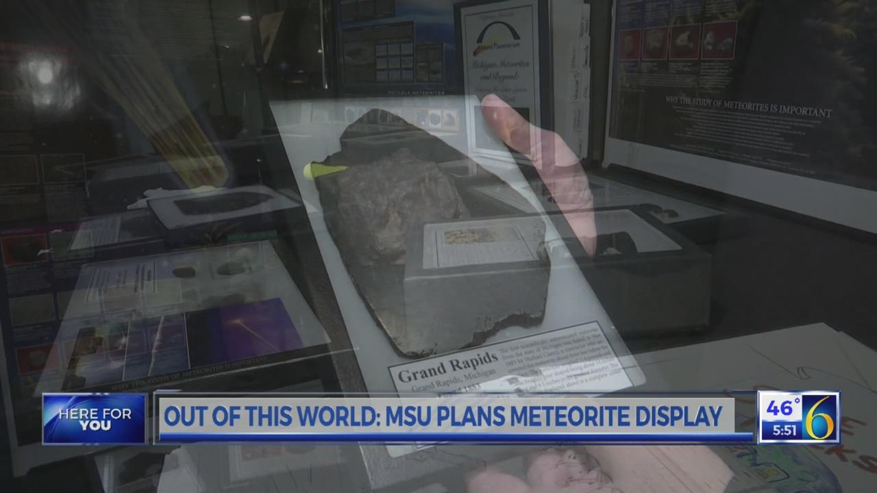 MSU plans meteorite day