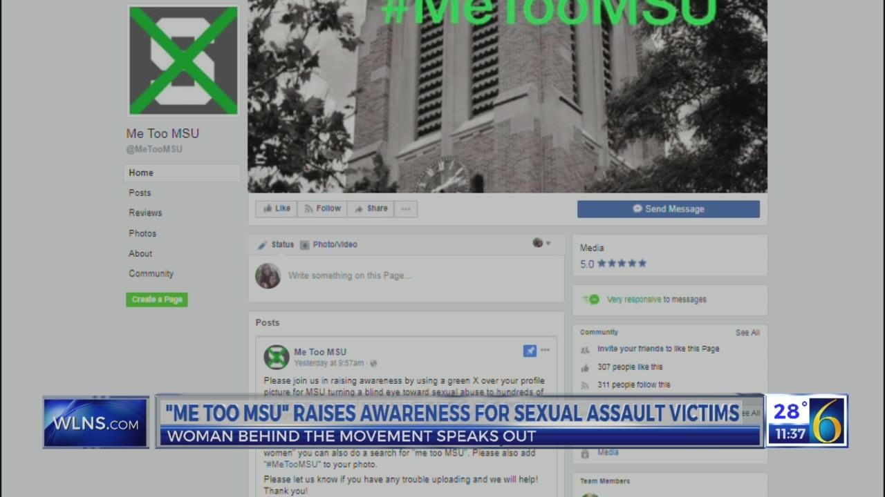 """""""Me Too MSU"""" raises awareness"""