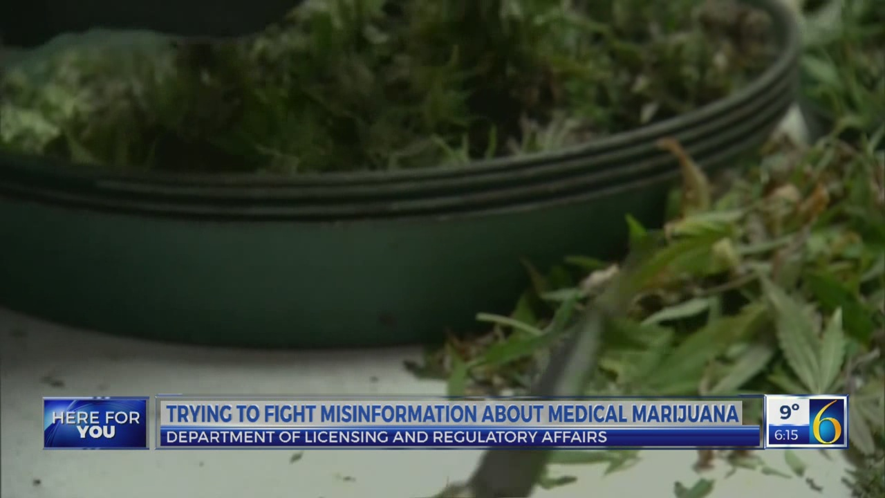 LARA officials: medical marijuana