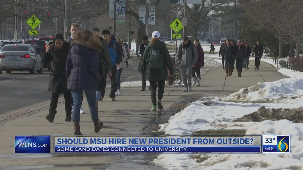 Should MSU look outside for new leader