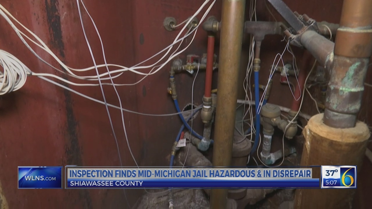 Inspection finds mid-MI jail in disrepair