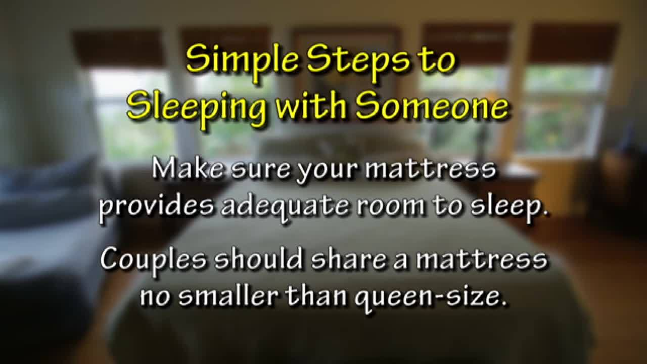 Mattress Source | 6 Simple Steps to Sleeping with Someone