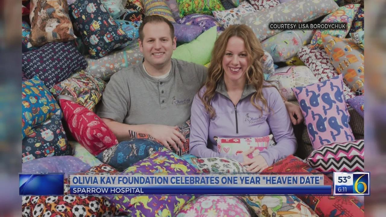 """Olivia Kay Foundation celebrates one year """"heaven date"""""""