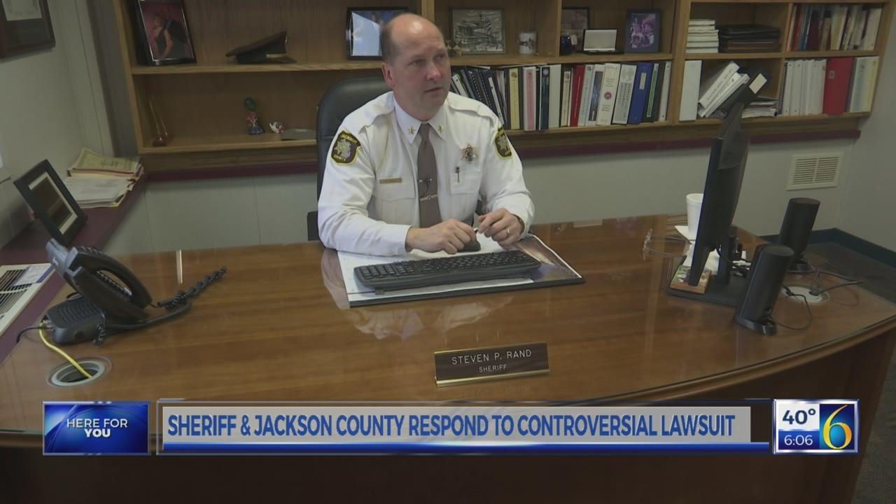 Sheriff & Jackson Co respond to lawsuit