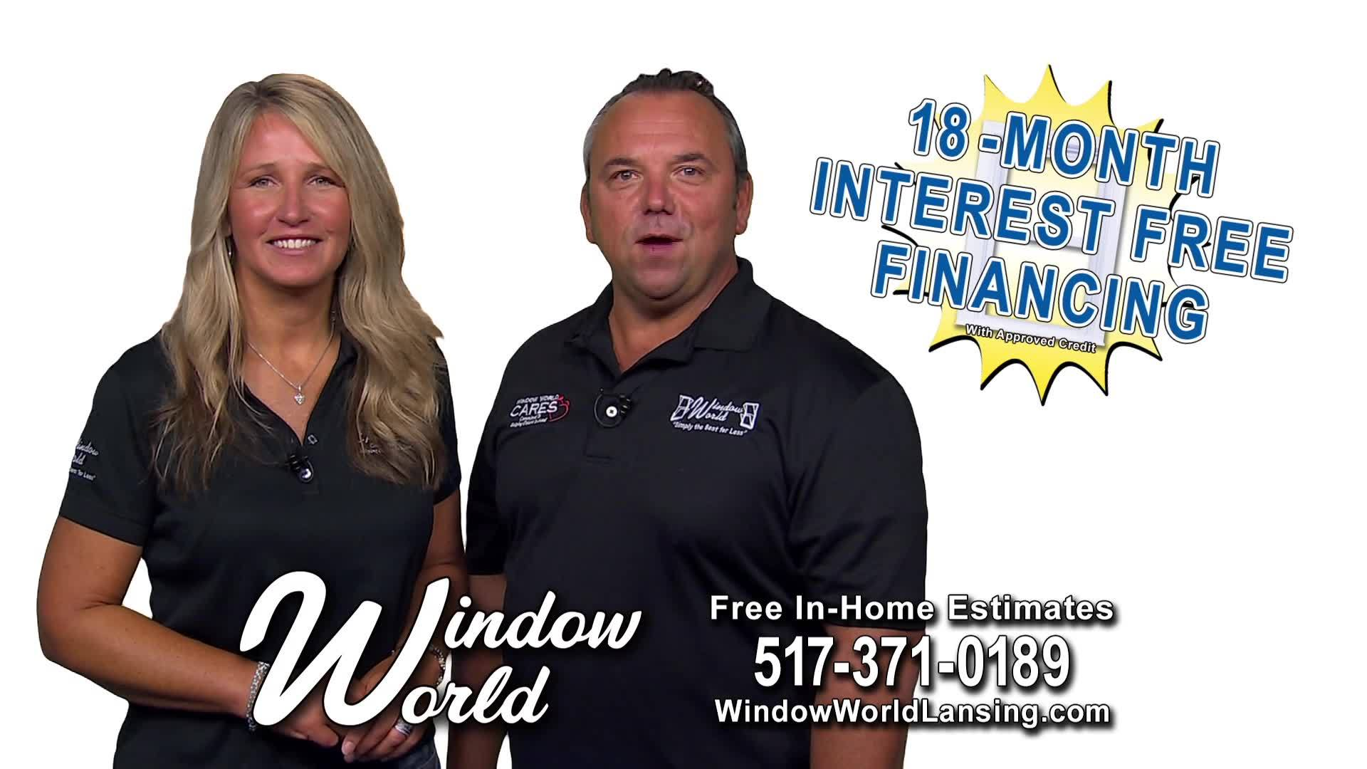 Window World | Interest Free Financing