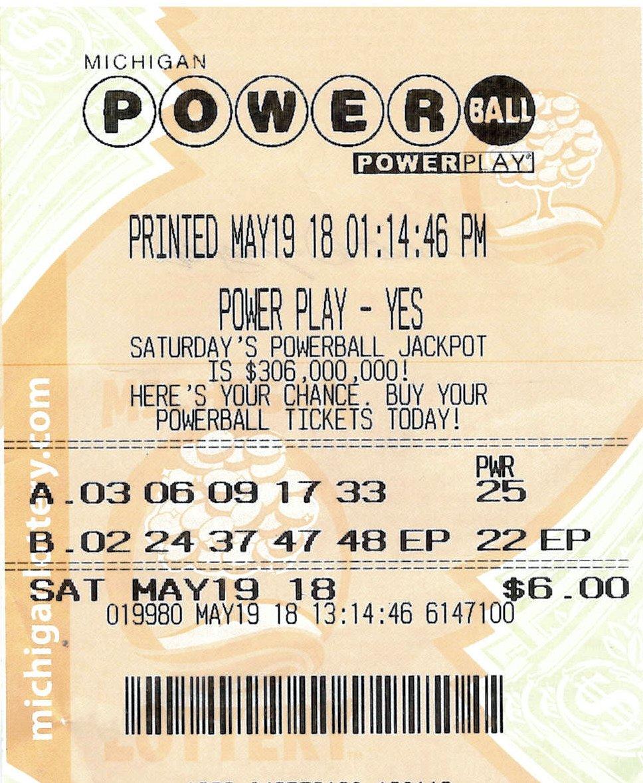05.22.18 Powerball 05.19.18 Draw $150,000 Ernest Spagnuolo Ingham County_1527103924240.jpg.jpg