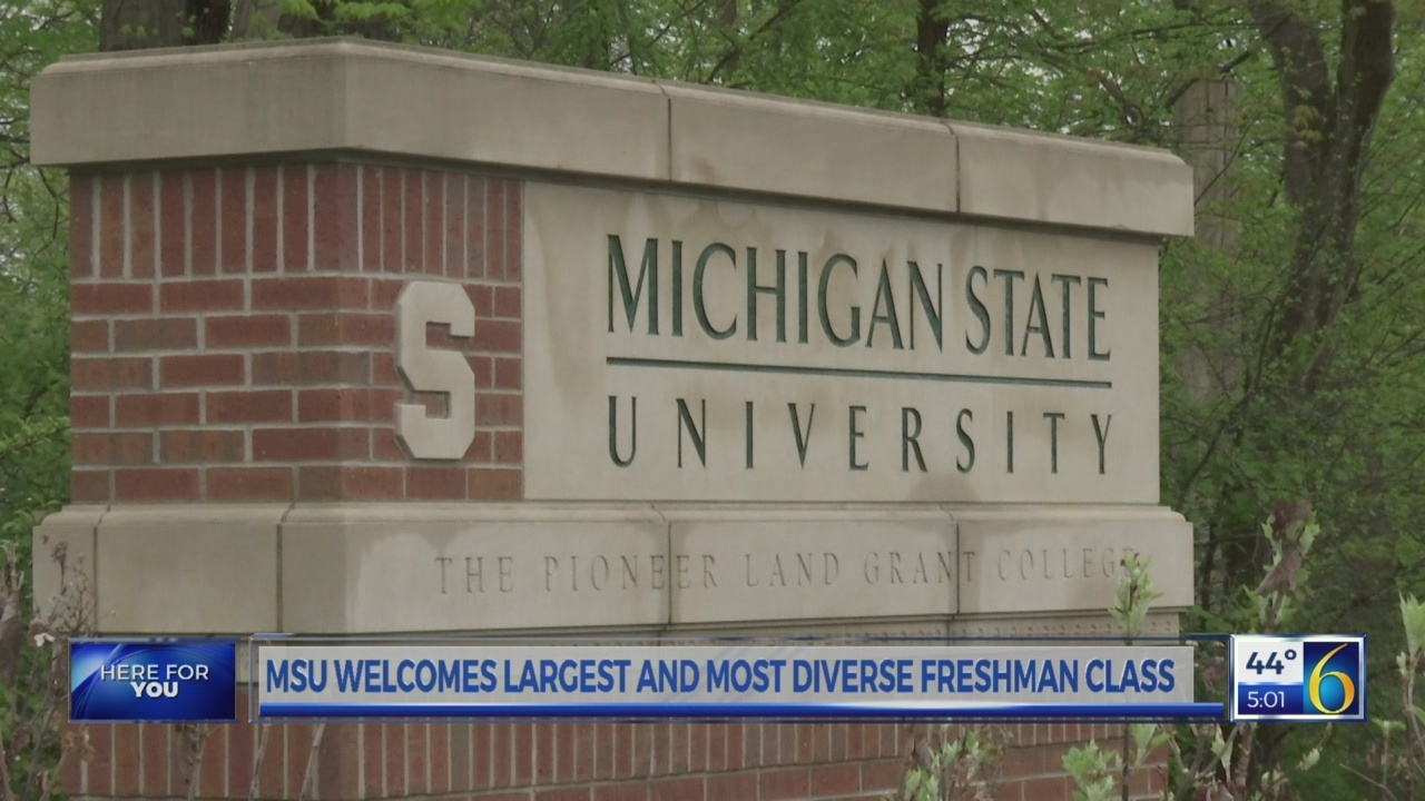 MSU welcomes largest and most diverse freshman class