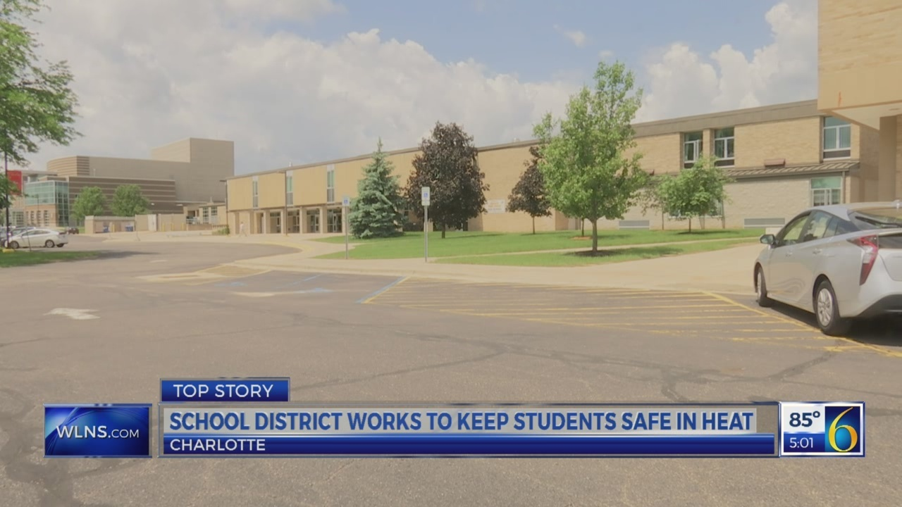 Schools work to keep students safe in heat