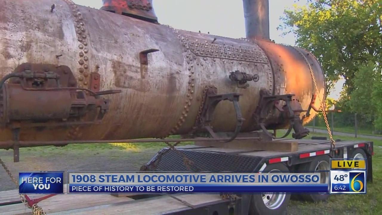 6 News This Morning: 1908 locomotive
