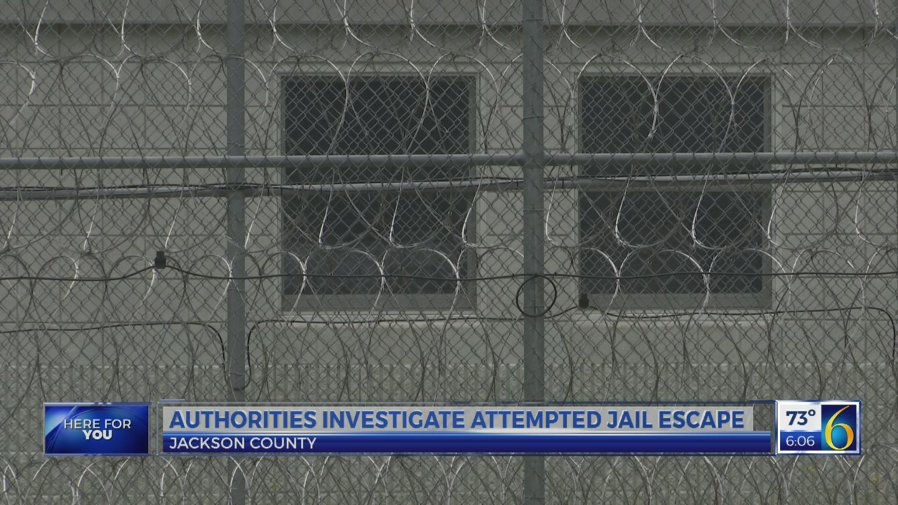 Jackson County Jail Escape Attempt