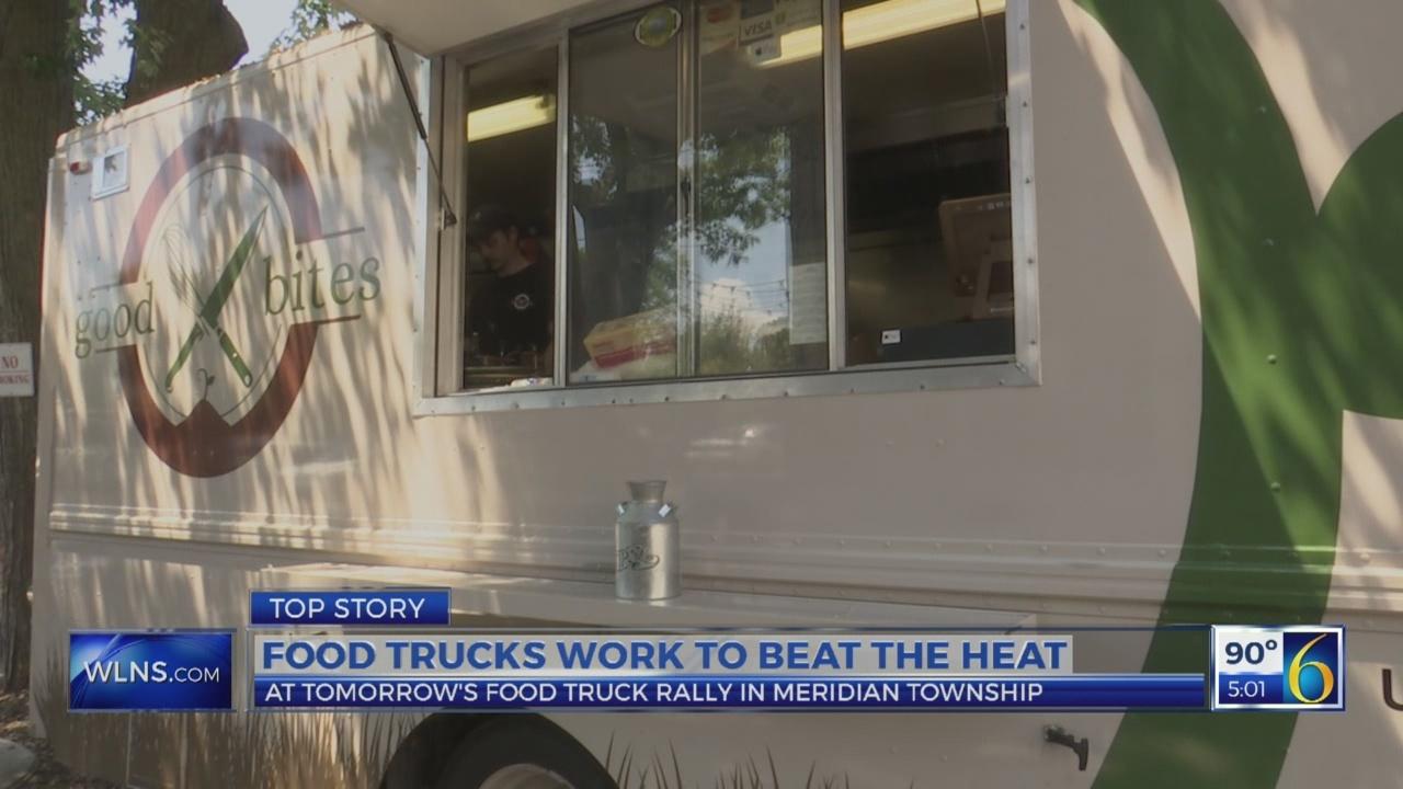 Local food trucks work to beat the summer heat