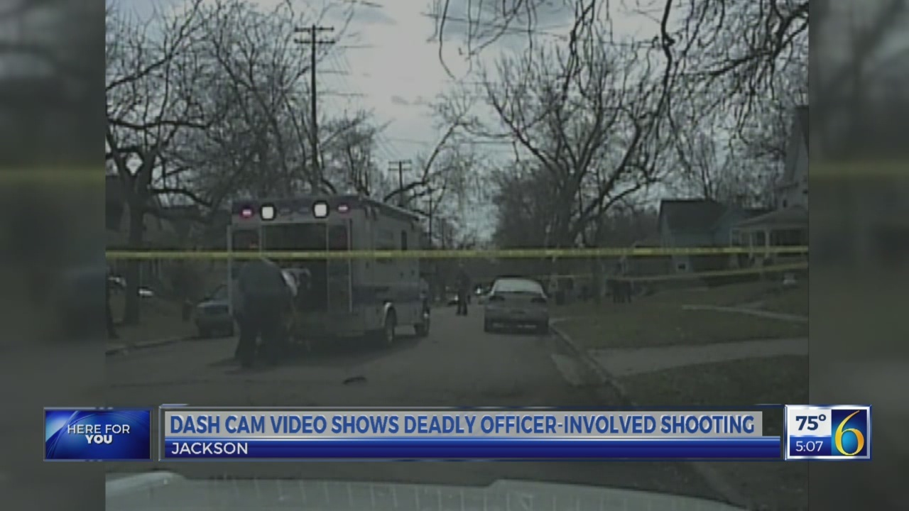 Officer-involved shooting on dash cam