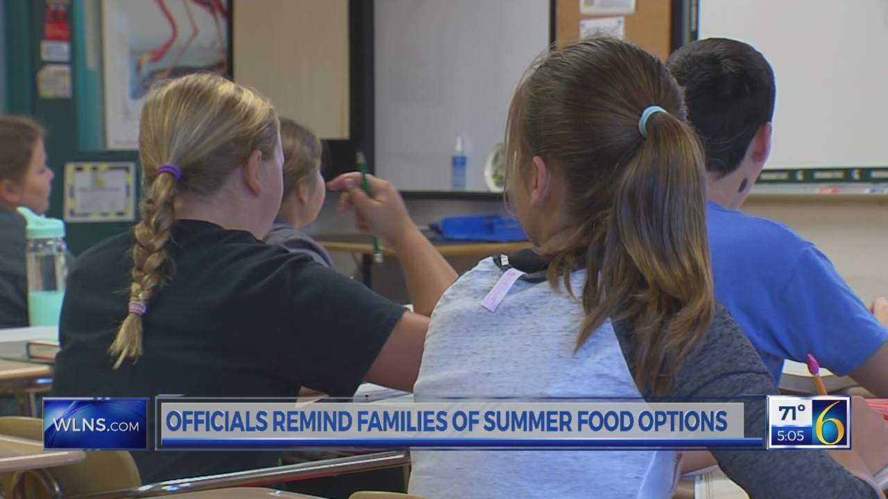 Officials remind families of summer food options