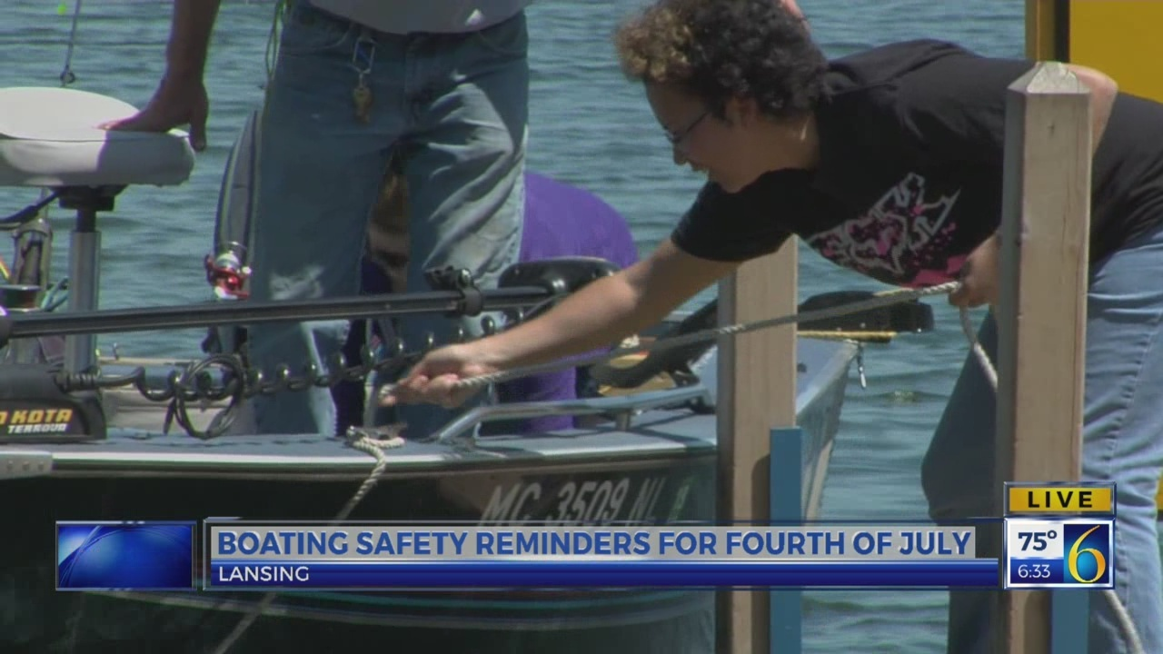 6 News This Morning: boating safety reminders