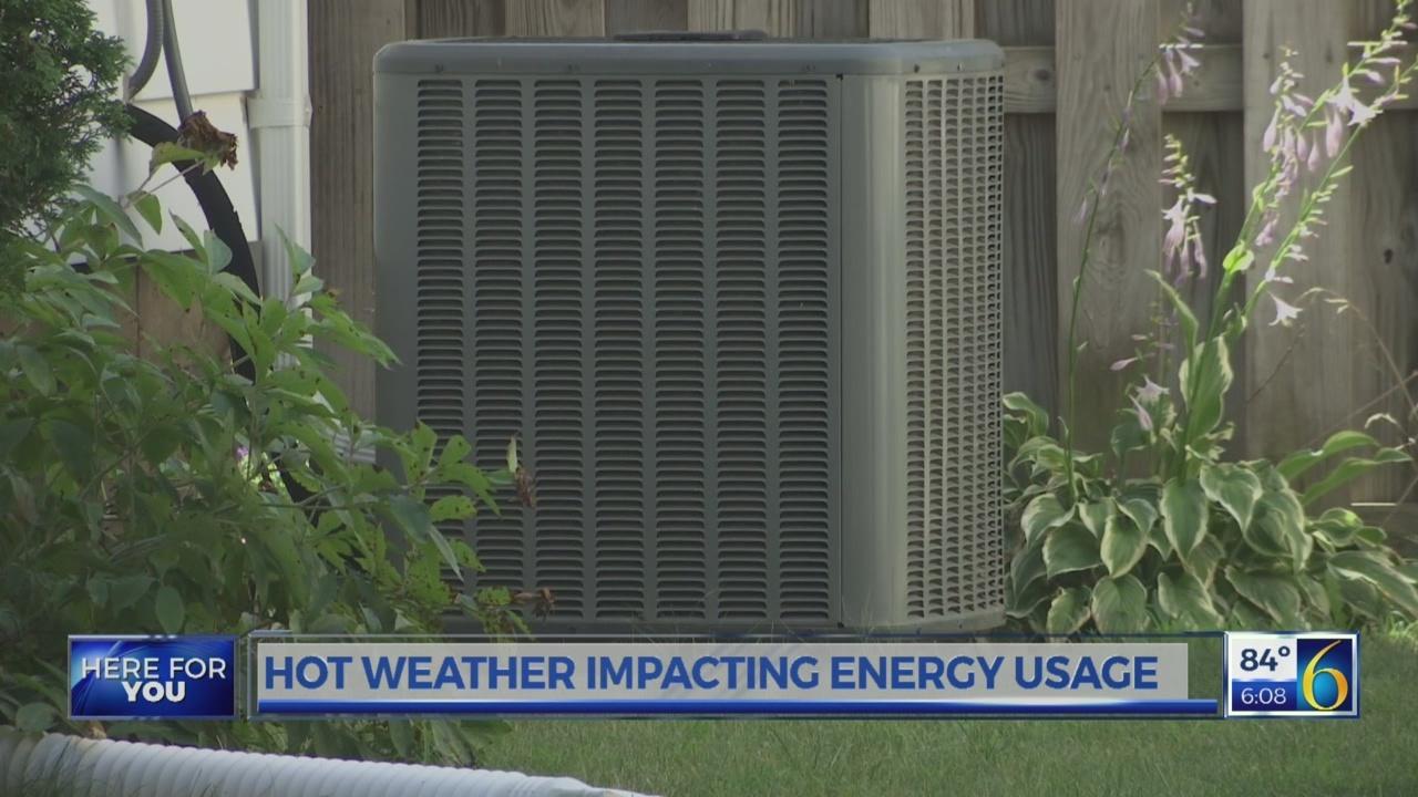 Hot Weather Impacting Energy Usage