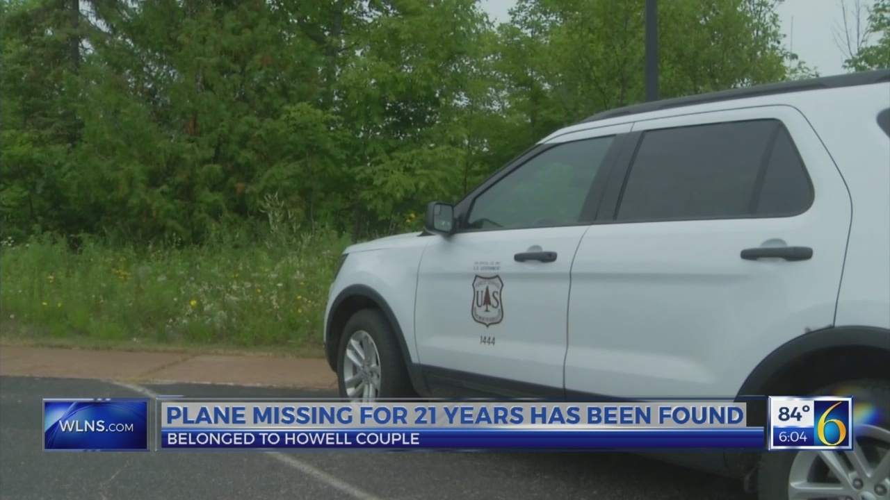 Plane found after 21 years