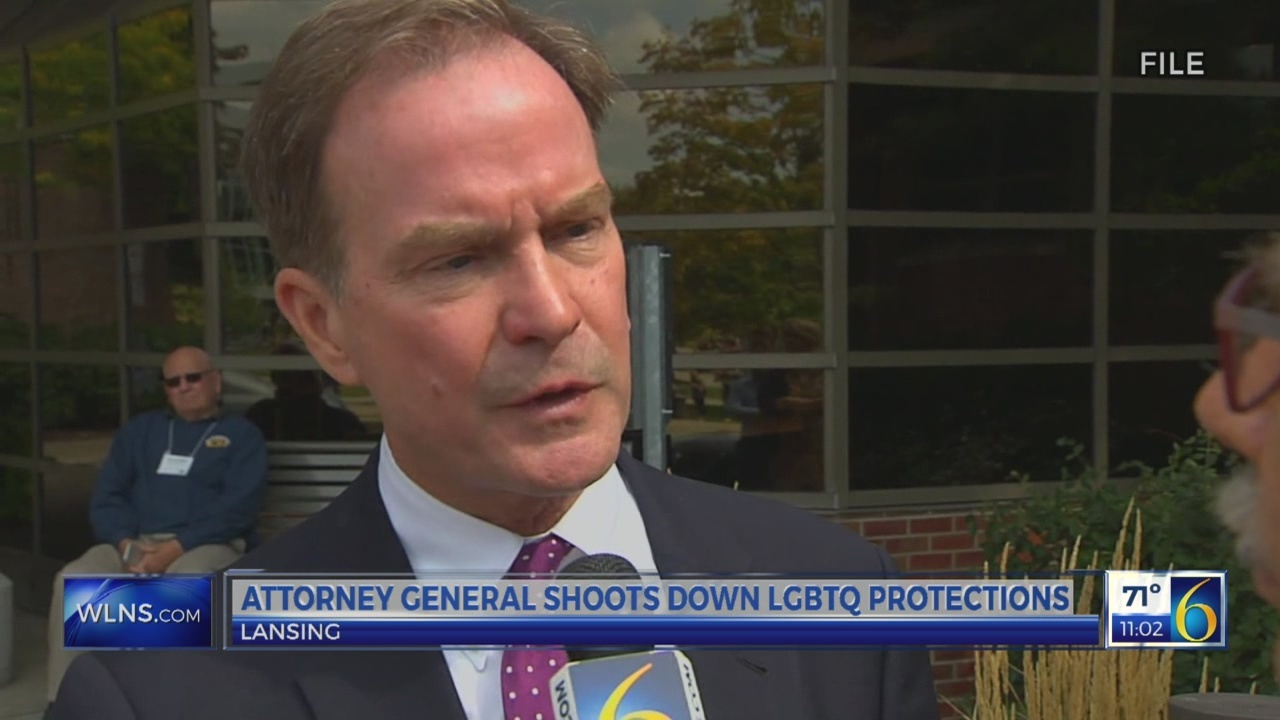 Schuette shoots down LGBTQ protections