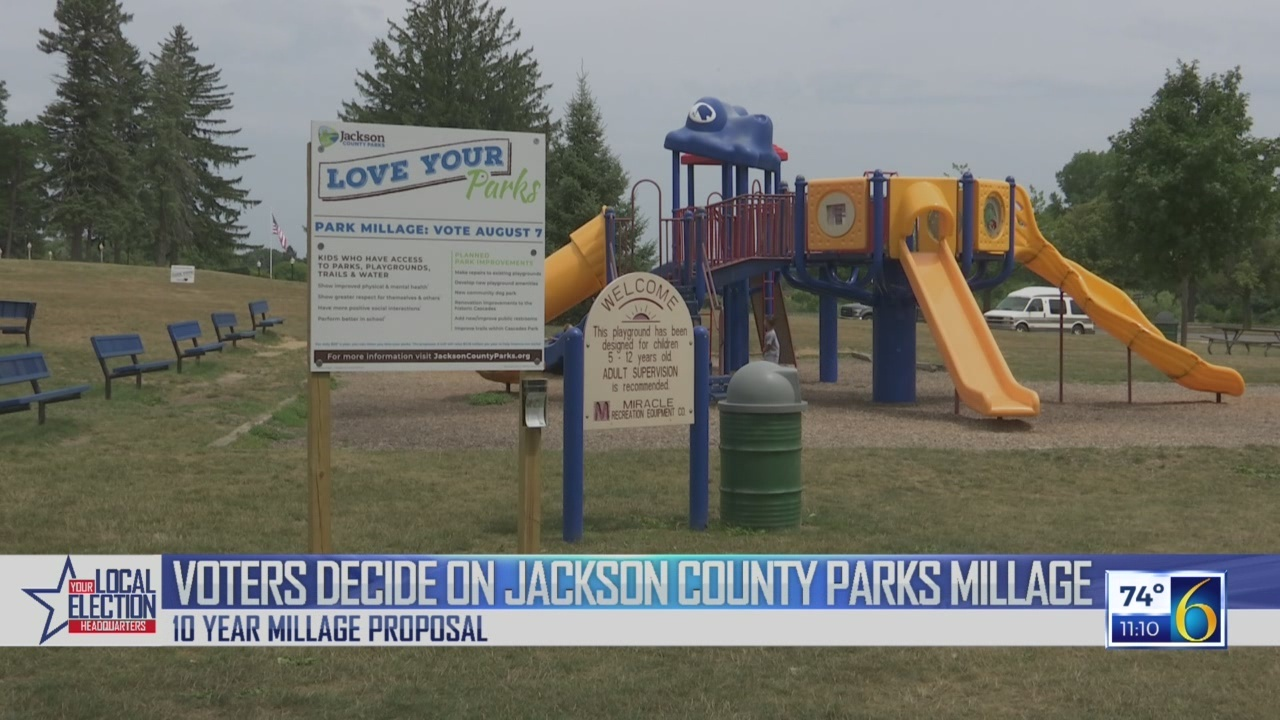 Jackson County Parks Millage Passes