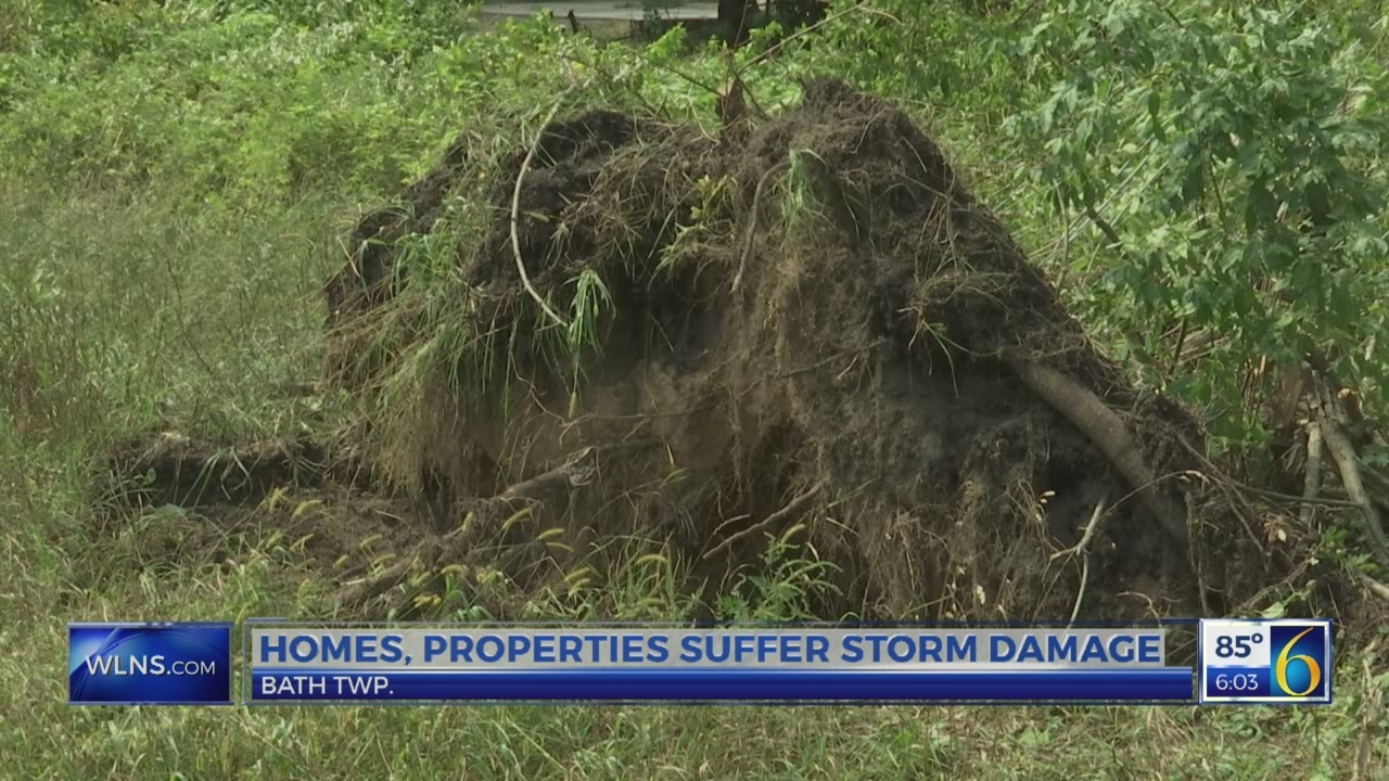 Homes, properties suffer storm damage in Bath Twp.