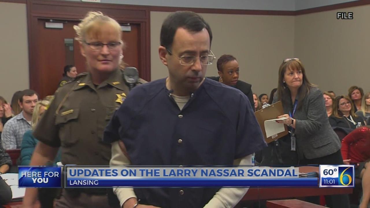 Updates on Larry Nassar scandal