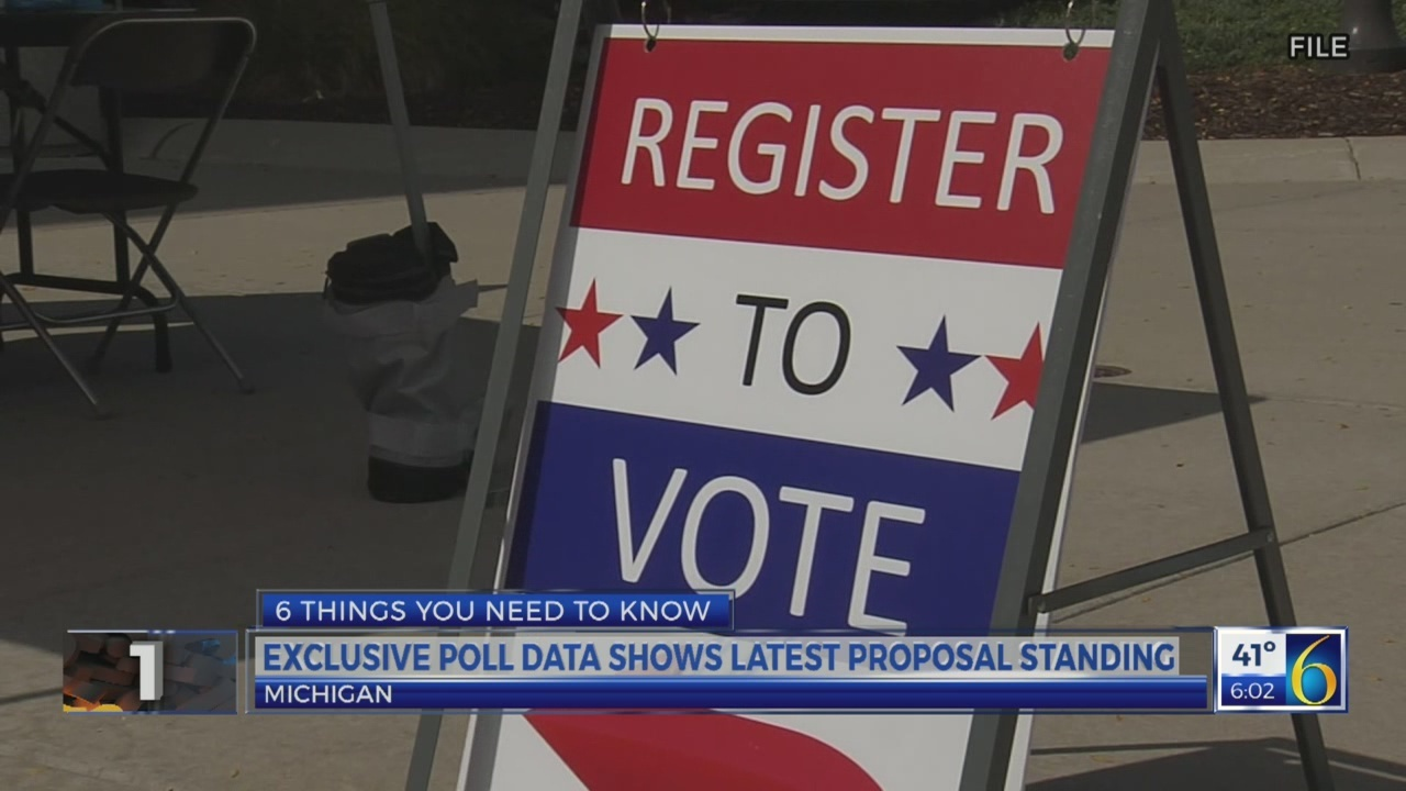 6 News This Morning: statewide proposal polling data