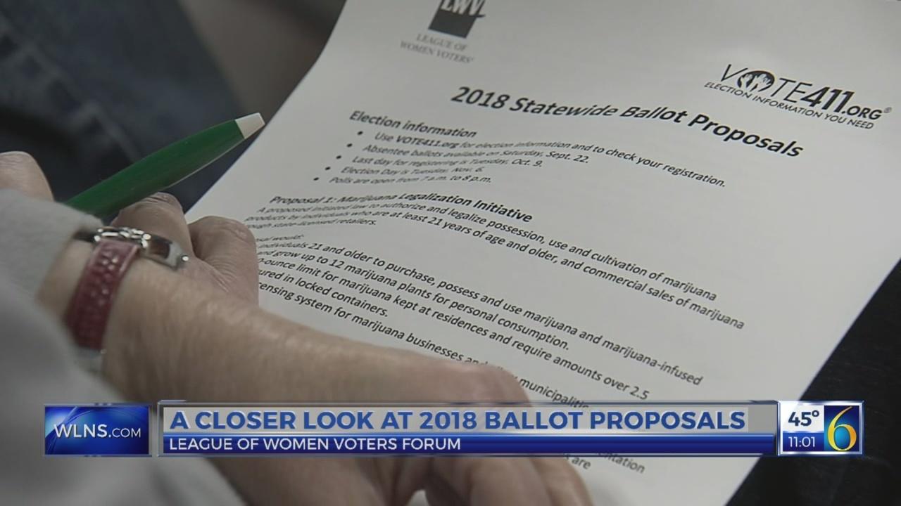 A closer look at 2018 ballot proposals