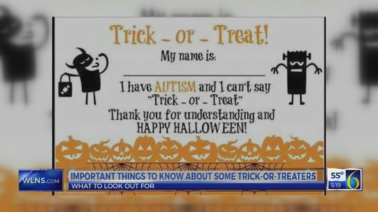 Parents bring autism awareness to Halloween