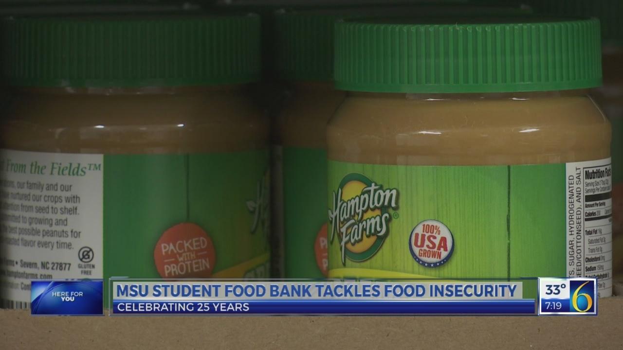 MSU food bank tackles hunger