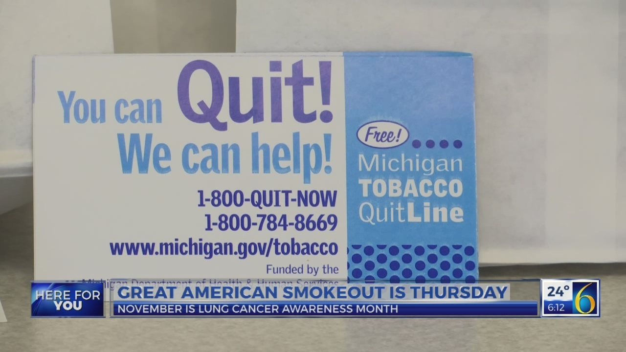 This Morning: Great American Smokeout returns