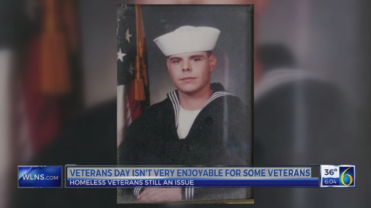 Veteran speaks out about homeless vets issue