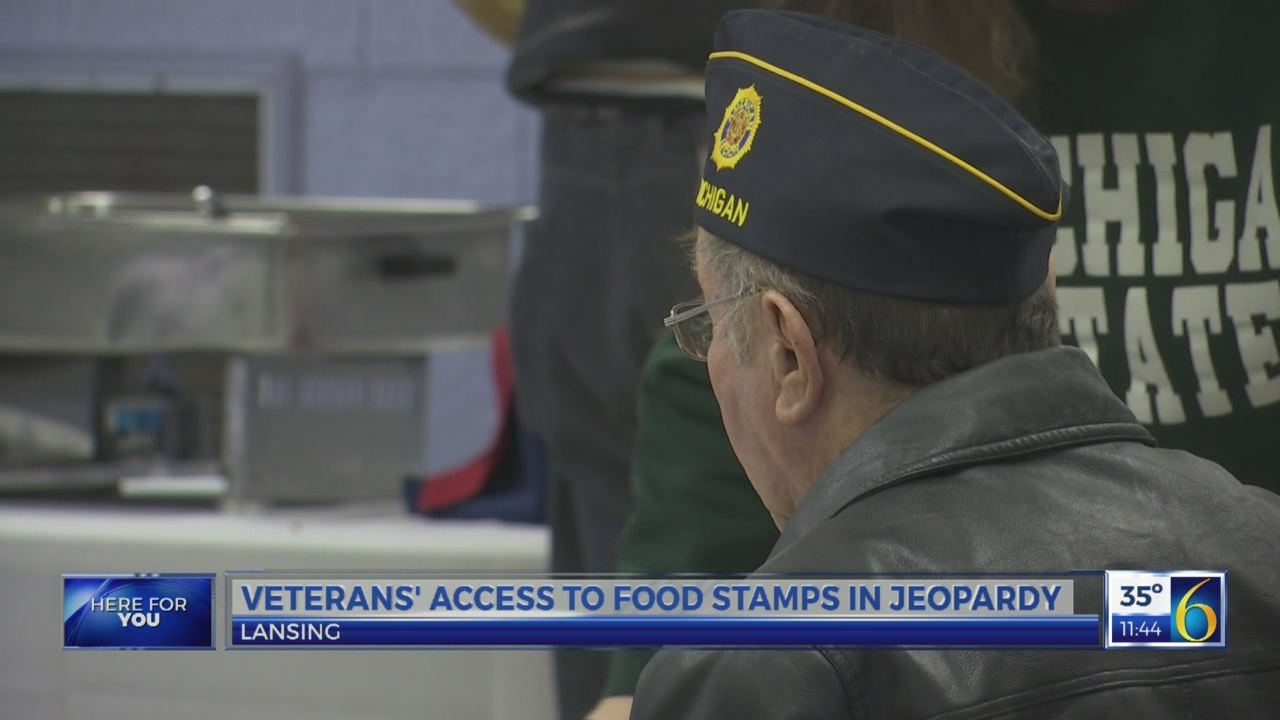 Veterans and food stamp access
