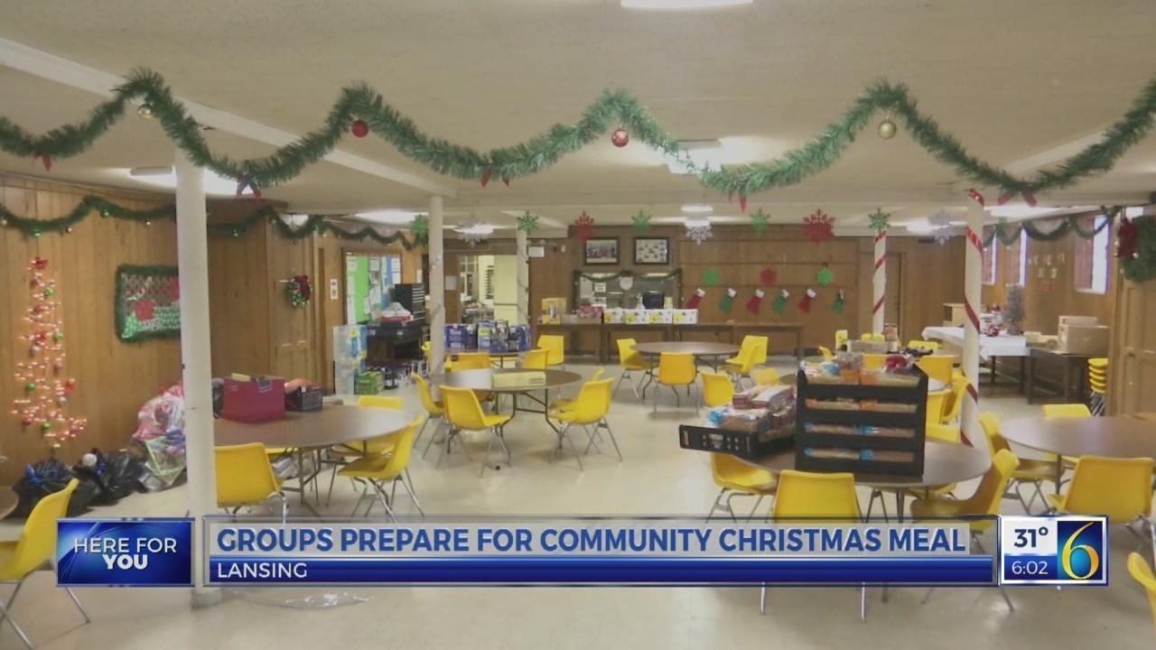 Advent House prepares for Christmas feast