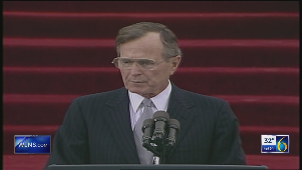 George H.W. Bush community service