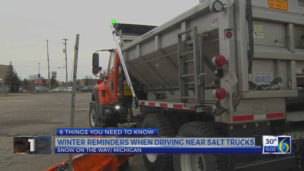 6 News This Morning: driving reminders in the snow