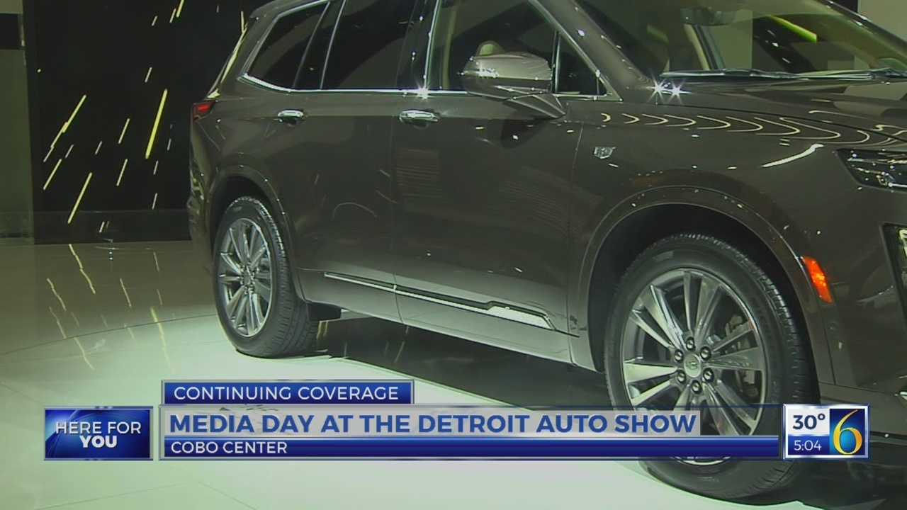 6 News at 5:00 p.m.: auto show recap day 1