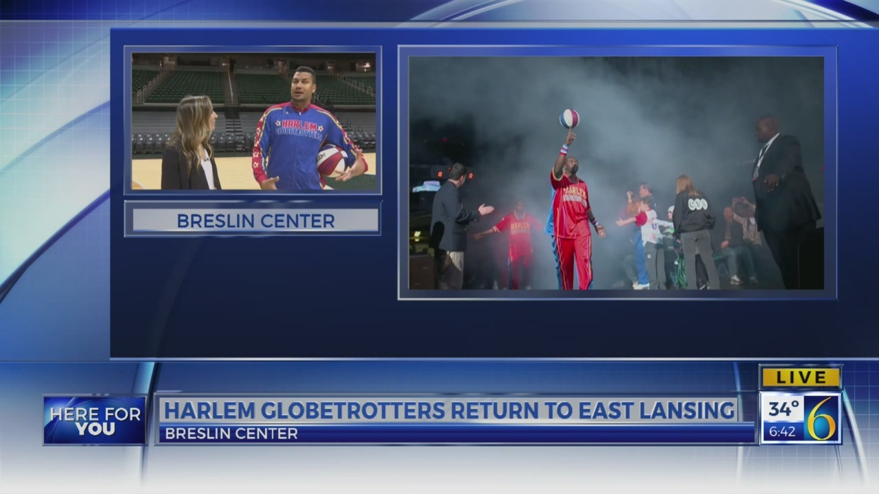 6 News This Morning: harlem globe trotters