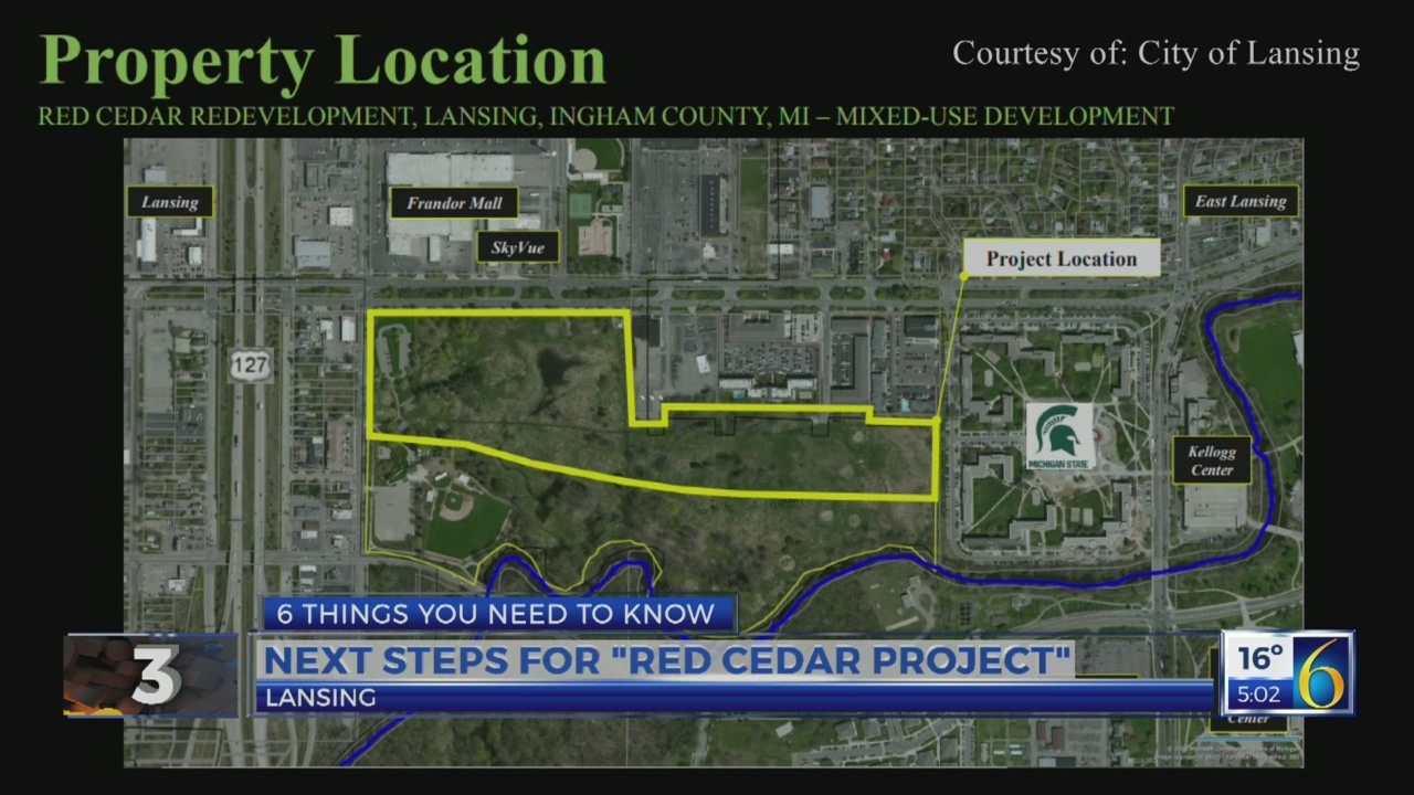 6 News at 5:00 a.m. red cedar development
