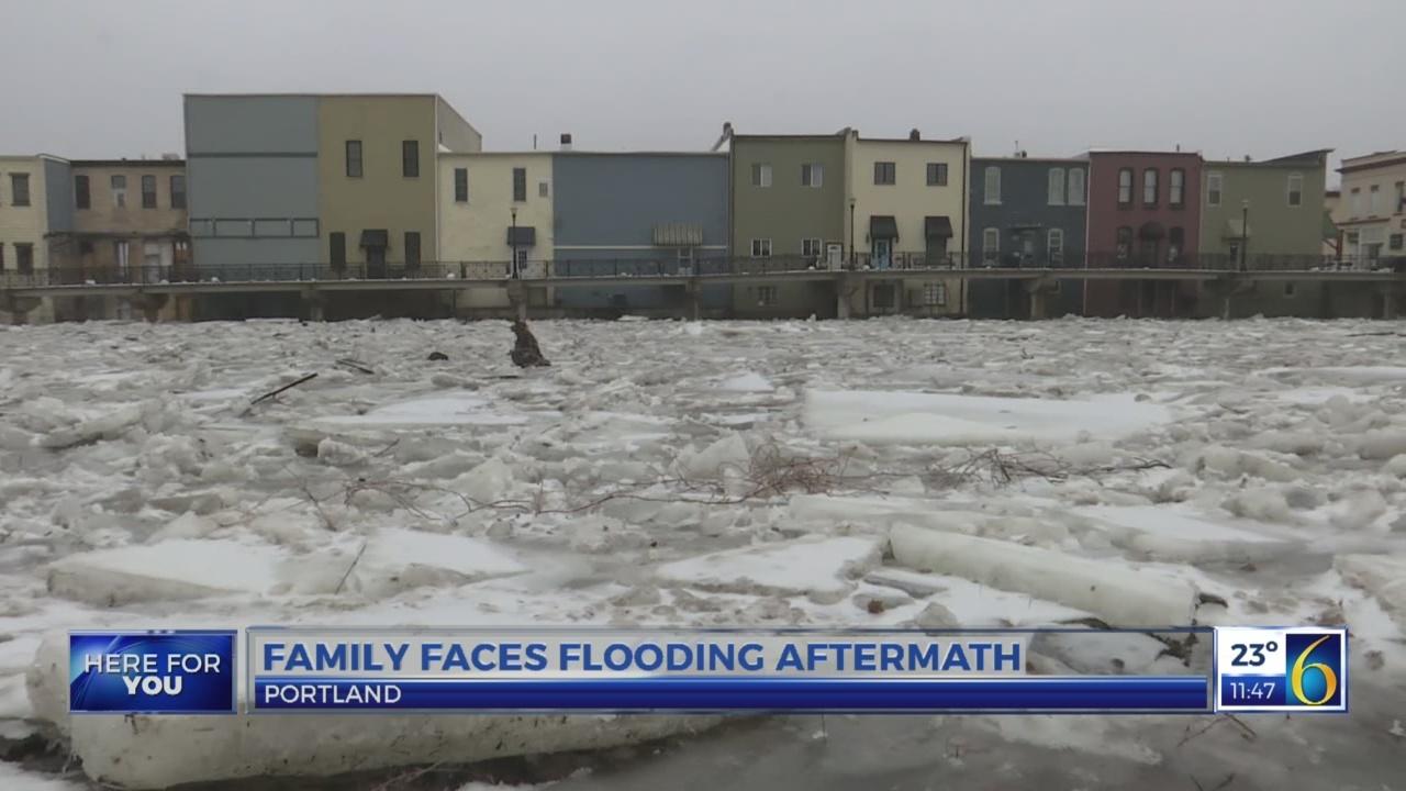 Portland family feels flooding effects
