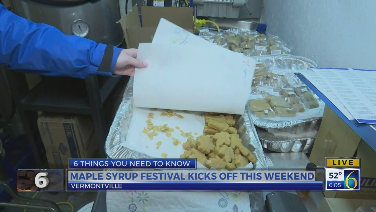 6 News This Morning: maple syrup festival
